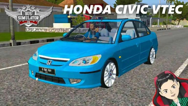 Honda Civic VTEC Mod BUSSID