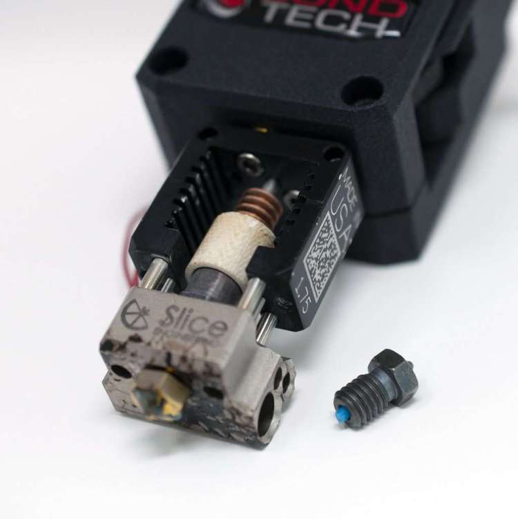 clogged extruder - 3D Printing