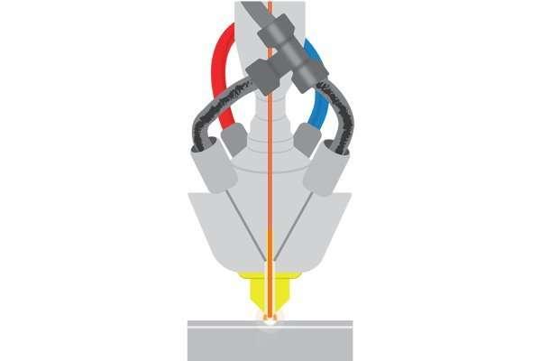 DED 3D Printing Diagram