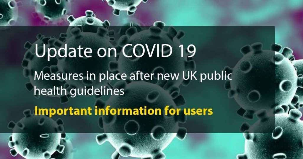 COVID19 Update Image - COVID 19 Restrictions