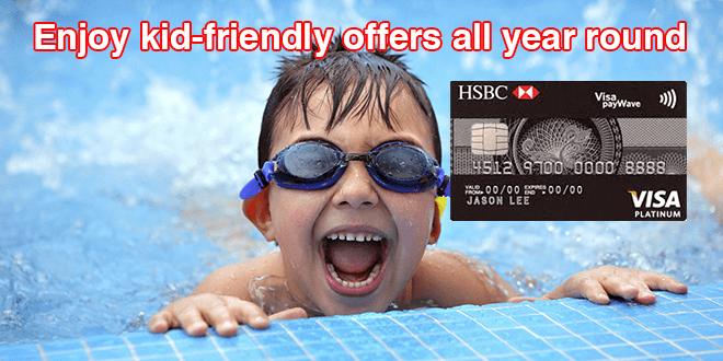 HSBC Visa Platinum Credit Card Play Kids