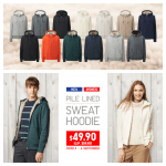 Uniqlo Pile Lined Sweat Hoodie