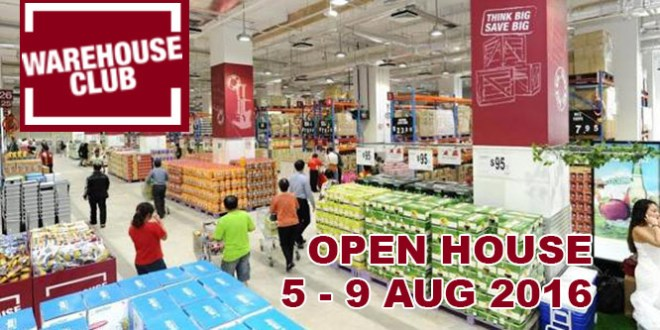Fairprice Warehouse Club open house in August 2016