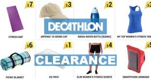 Decathlon Clearance in Aug 2016