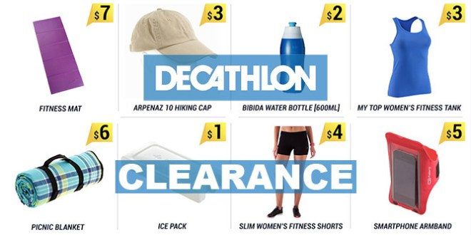 Decathlon Clearance in Aug 2016