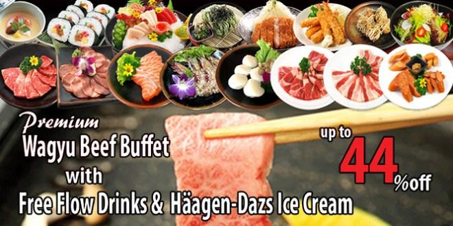 TENKAICHI Japanese Restaurant Wagyu Beef Buffet Promotion in July 2016