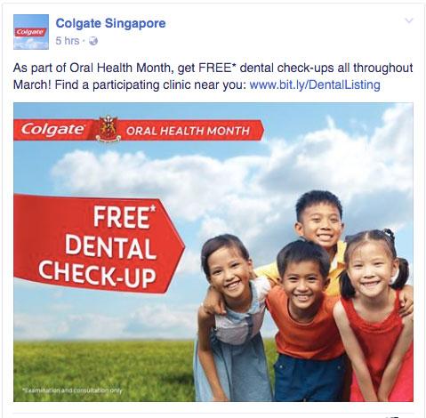 Colgate-FREE-dental-check-up-nationwide-mar-2017