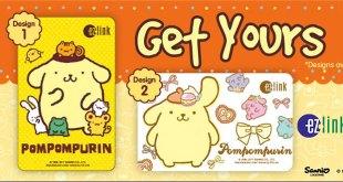EZ-Links Sanrio Pompompurin cards