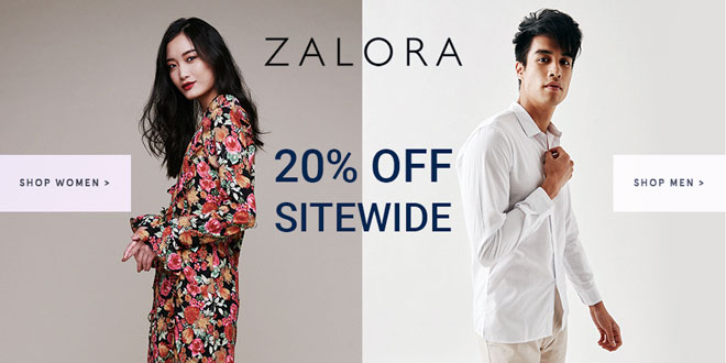 ZALORA Singapore promo codes Apr 2017