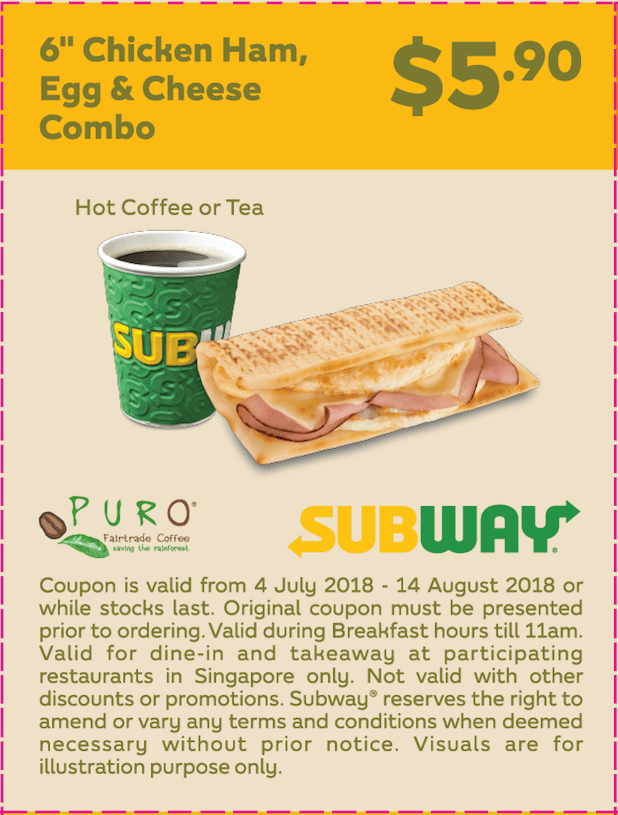 Over the years, more and more restaurant chains and franchises have made decisions to reward their most loyal customers with a little something for free to enjoy on their birthday. One such franchise is Subway, who has formed their own Subway birthday freebie in the Subway Eat Fresh Club. This post is updated for
