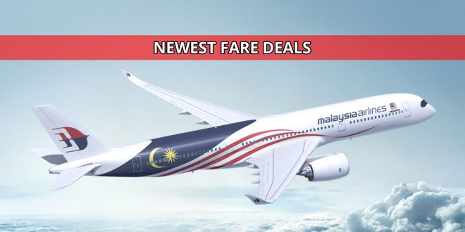 Malaysia Airlines Newest Promotions for 2019