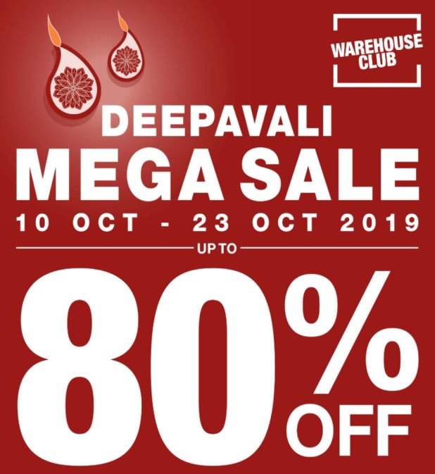 Deepavali Mega Sale at FairPrice Warehouse Club