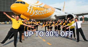 Scoot 30% discount