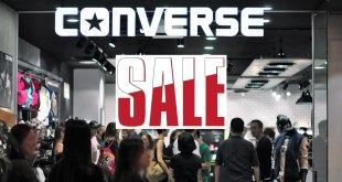 Sales at Converse