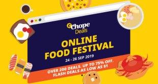 ChopeDeals Food Festival Sep 2019