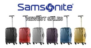Samsonite promo codes for Singapore 2019