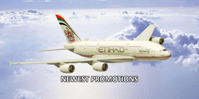 Etihad Airways promotions for Singapore 2019