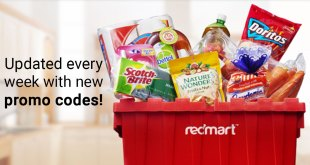 Latest Redmart promo codes