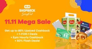 11.11 Mega Sale Shopback 2019