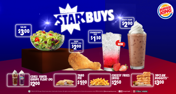 Burger King Starbuys, updated in 24 Dec 2019