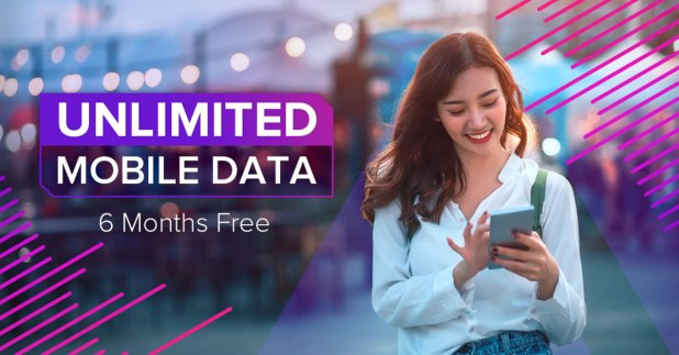 FREE Unlimited Data for 6 months with Circle.Life