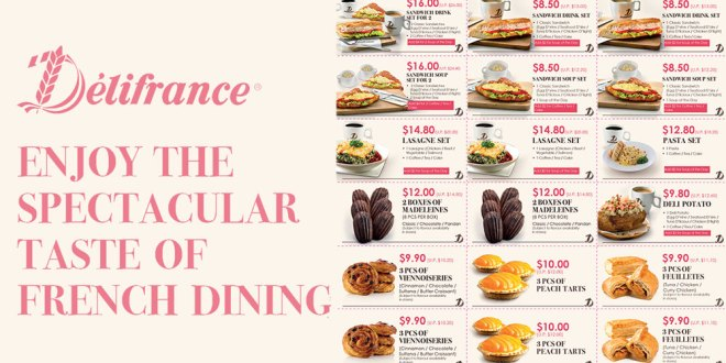 Delifrance new coupons - Up to $10 OFF
