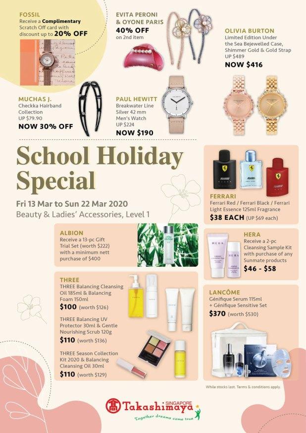 Takashimaya - School Holiday Special