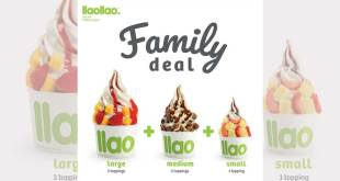 llao llao Family Deal: 3 for $14.90