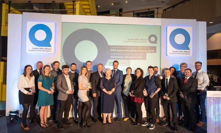Apprenticeship Award for Adam