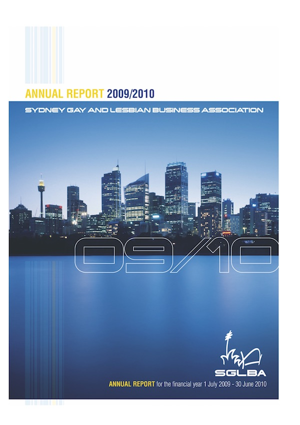 FP 2009-2010 SGLBA Annual Report