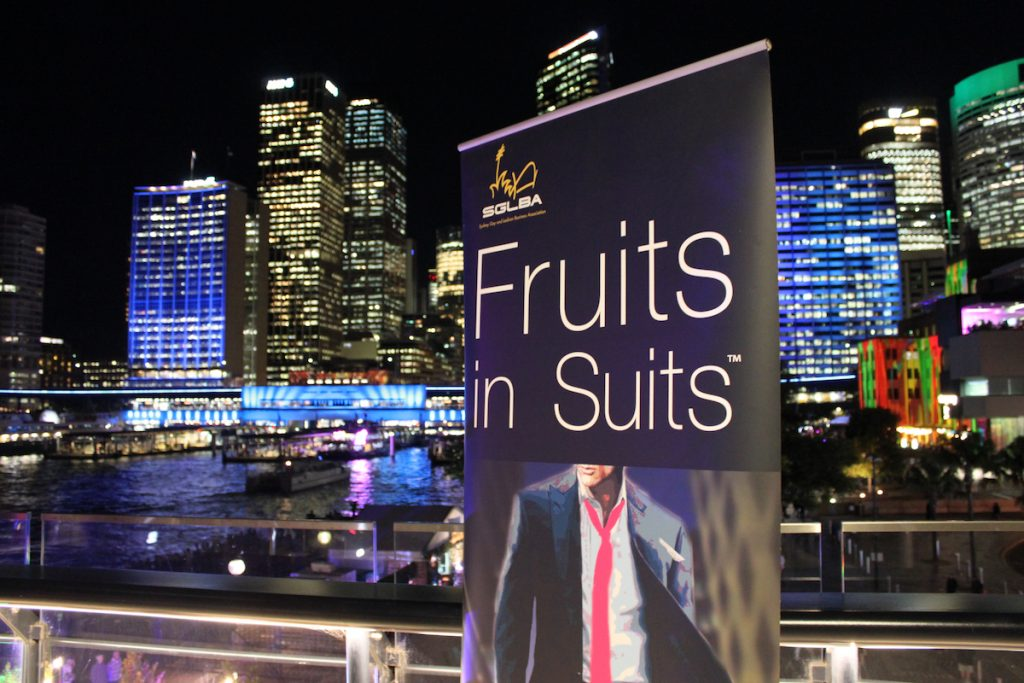 Fruits in Suits June 2016 | The Cruise Bar, Circular Quay, Sydney