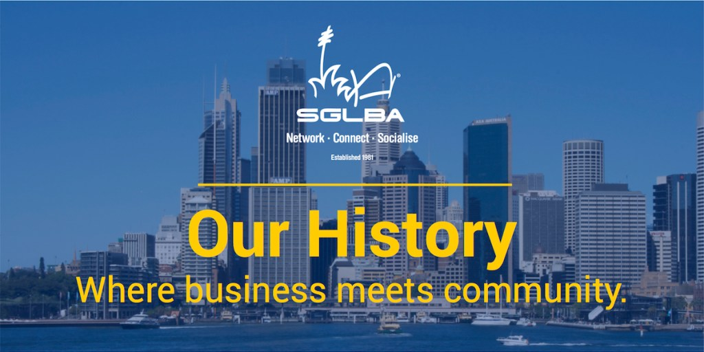 The SGLBA, Our History, Founded in 1981.