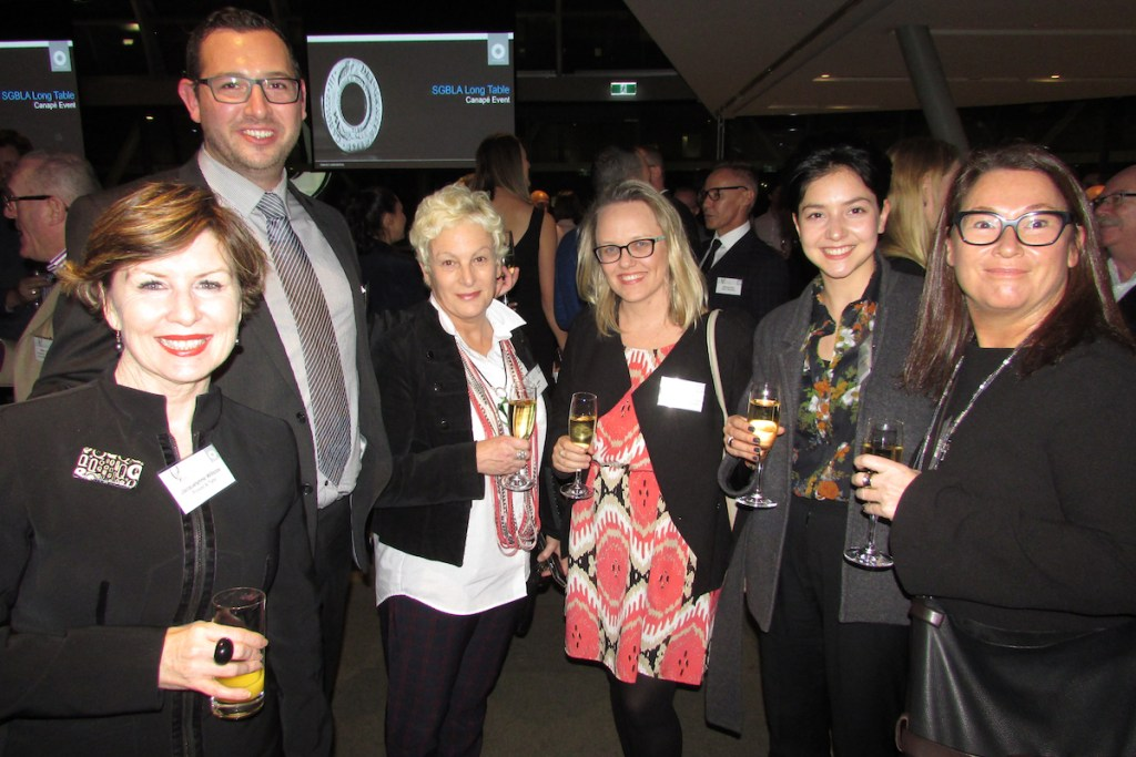 Long Table Canapés networking event hosted by Macquarie Bank.