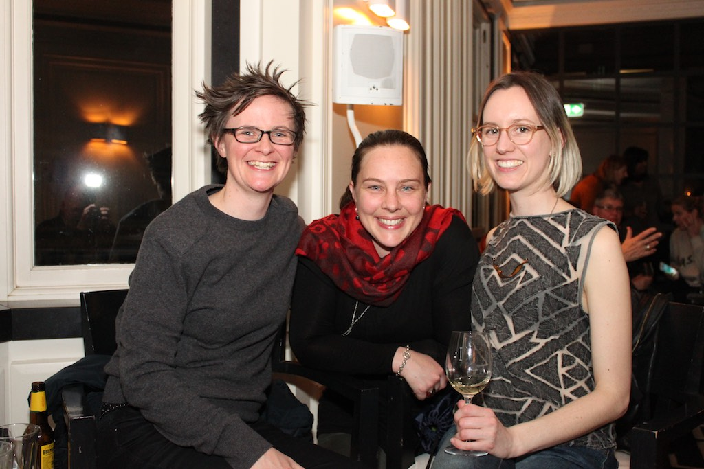 "Fiona (L) was the winner of the Lucky Door Prize, two tickets to the Networking Women Event - ""How do you like your feminism?"", Friday 21st July, 2017 with Clementine Ford, Fran Kelly and Liberty Sanger."