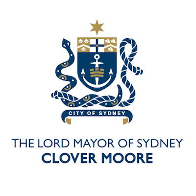 LOGO Lord Mayor of Sydney Clover Moore 400x400pxl