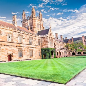 SQUARE Sydney University Quadrangle Building 600x600pxl