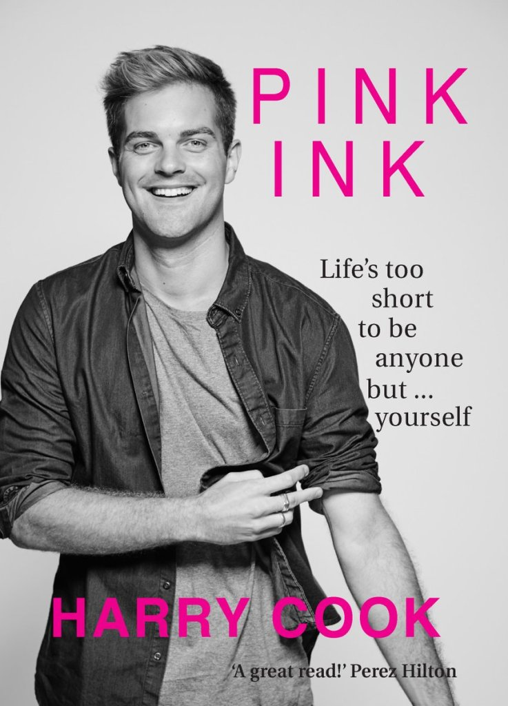BOOK COVER Pink By Harry Cook