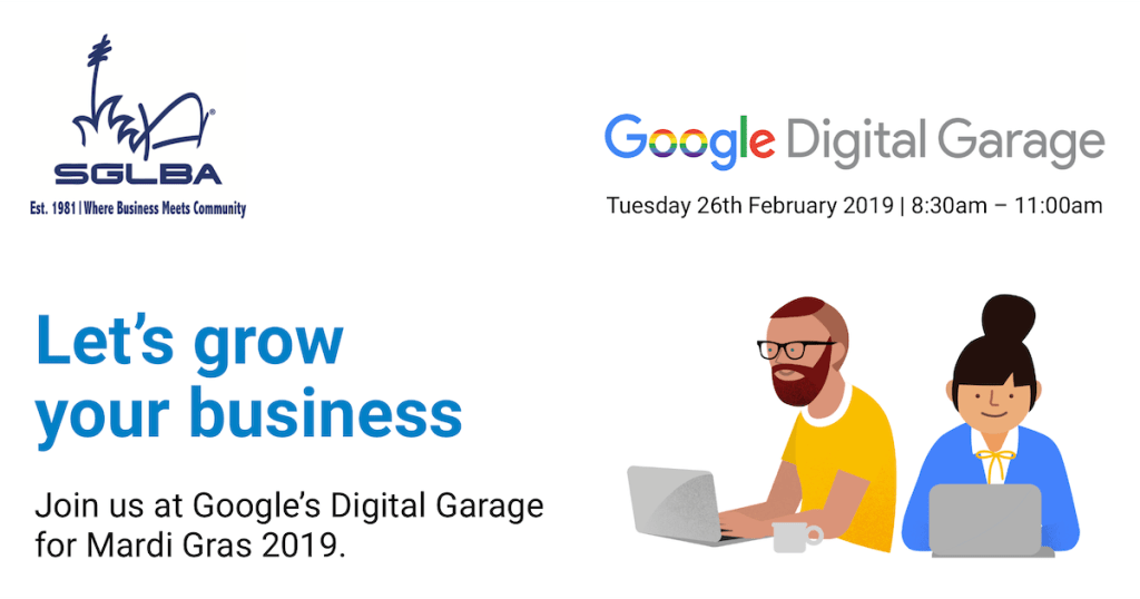 Let's grow your business Google Digital Garage