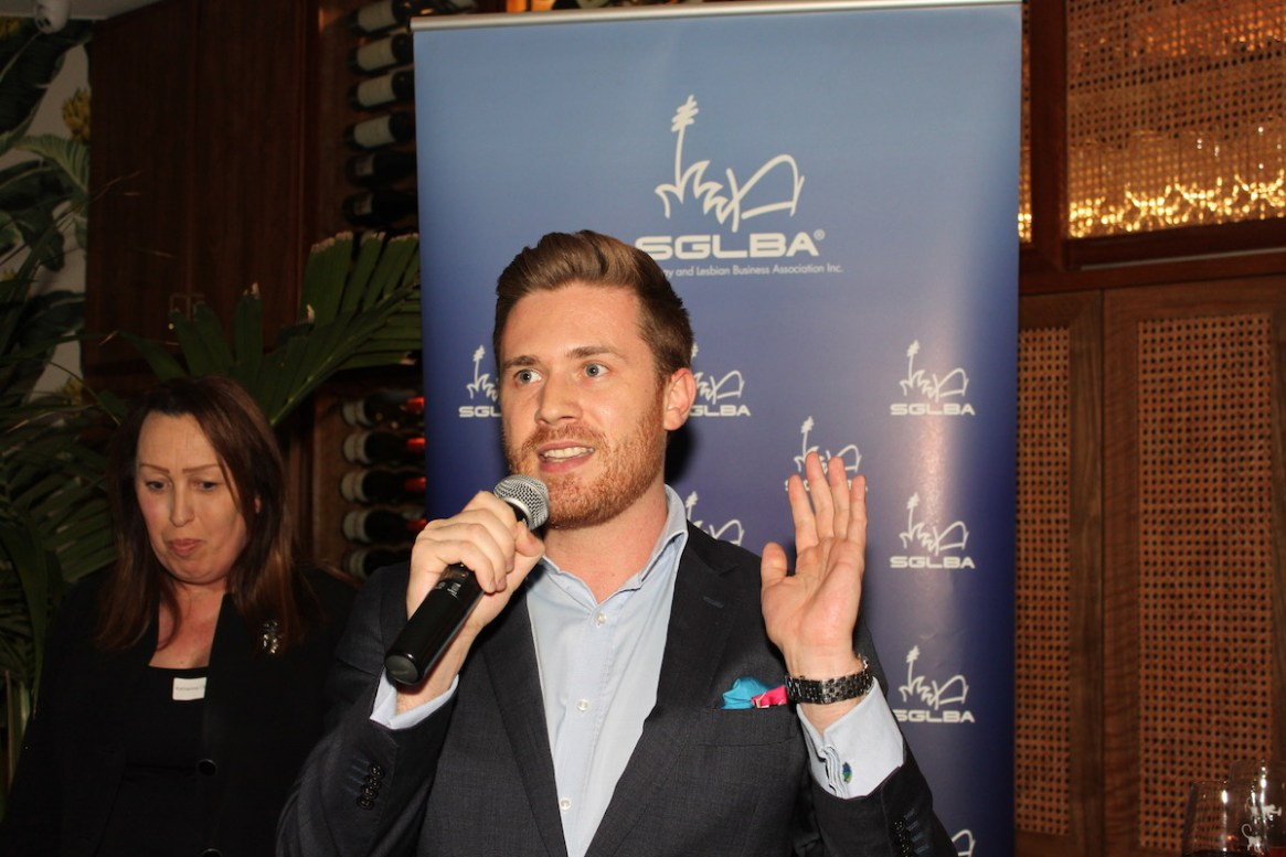 Jesse Matheson from Sydney Gay & Lesbian Mardi Gras provided an update on our WorldPride 2023 bid.