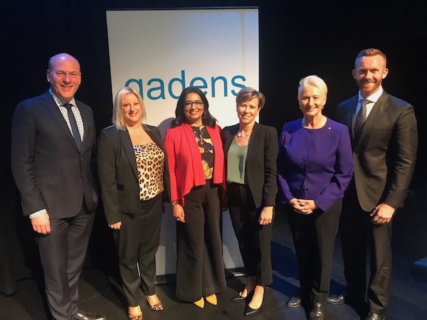The 2019 Federal Election Event sponsored by Gadens Law Firm at the Eternity Theatre in Darlinghurst.
