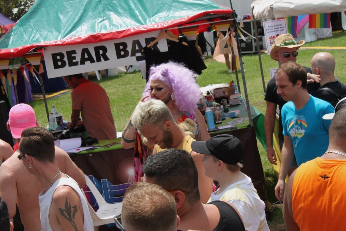 Bear Bar is Sydney's small gay bar in the heart of Oxford Street. Open every Friday (from 7pm) and Saturday (from 5pm) underneath the Burdekin Hotel for Bears and their friends.