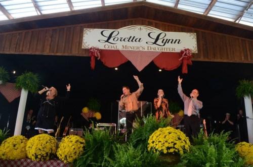 The Hoppers perform during the 2014 Loretta Lynn Gospel Festival