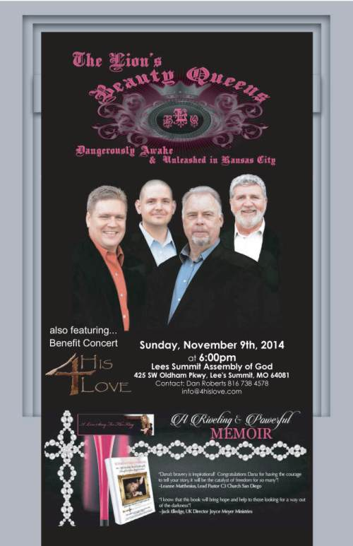 Join 4 His Love for a special fundraiser for Lions Beauty Queens Ministries