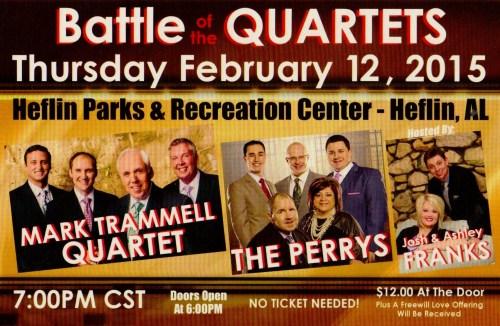 Battle of Quartets