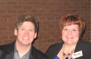 Jim Brady and Lorraine Walker of SGN Scoops