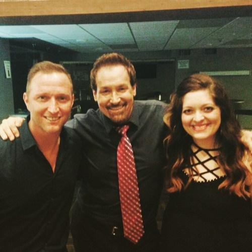 Doug Anderson, Michael English, Natalie Cromwell