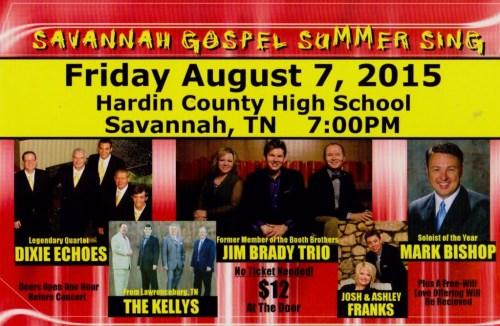 Savannah Gospel Summer Sing
