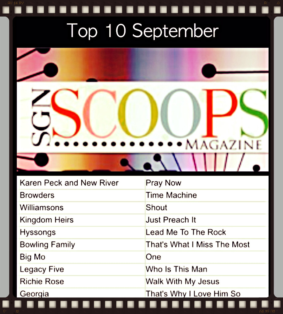 Karen Peck And New River #1 On The SGNScoops Top 100