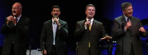 Photo C. Dignity Gospel Quartet- Wally Shuttlesworth, Clint Hebert, Josh Flynn, Russell Allen