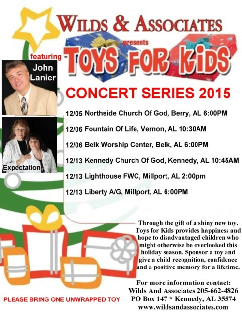 Toys For Kids Concert Series